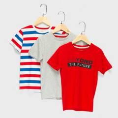 Yamp - Camiseta Niño Pack x3 Yamp