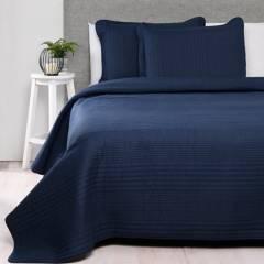Basement Home - Cubrelecho Algodón Classic Azul
