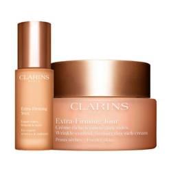 Clarins - Kit Extra Firming Contorno de Ojos + Crema Antiedad