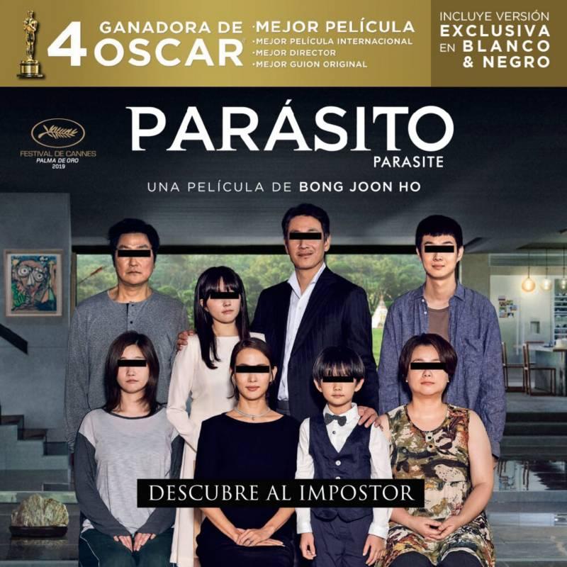 Elite Entretenimiento - Parasito pelicula (dvd)