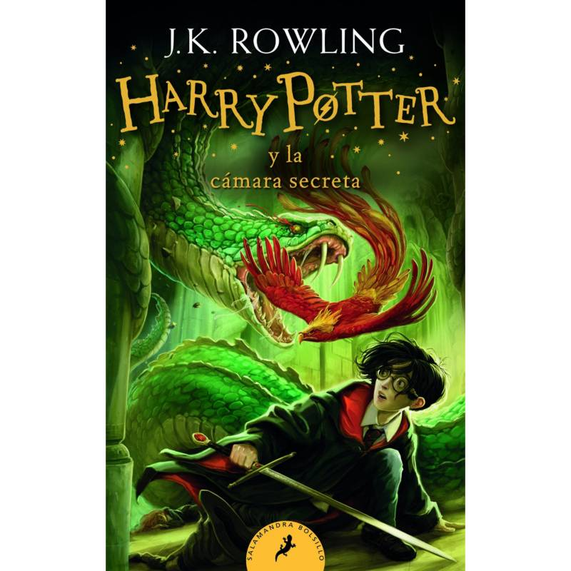 Salamandra - Harry Potter Y La Cámara Secreta 2