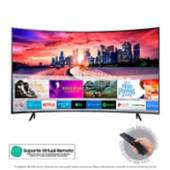 Samsung - Televisor Samsung 55 pulgadas Curvo LED 4K Ultra HD Smart TV
