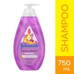 Johnsons Baby - Shampoo Johnson´s Baby Fuerza y Vitamina 750 ml