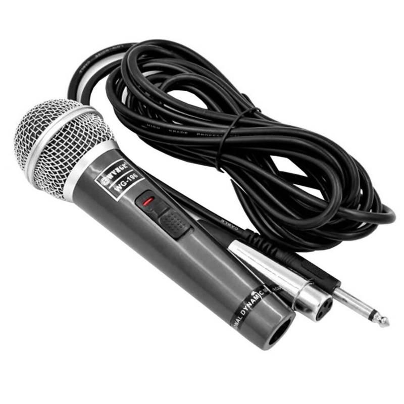 Danki - Microfono alambrico wvngr cable dinamico 80 hz neg