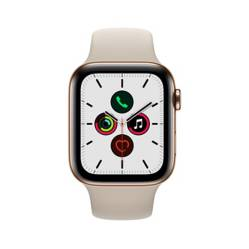 Apple - Watch S5 Cellular 44 mm Acabado Acero Inoxidable