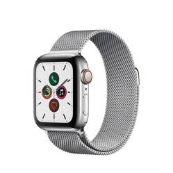 Apple - Watch S5 Cellular 40 mm Correa Acero Inoxidable