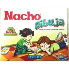 GENERICO - Libro Inicial de Artística NACHO Dibuja X 96 Pag