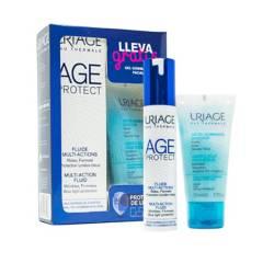 Uriage - Kit Hidratante Antiedad Fluido Multi-Acción + Gratis Exfoliante Gentle Jelly - Uriage Age Protect