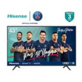 Hisense - Televisor Hisense 43 pulgadas LED 4K Ultra HD Smart TV