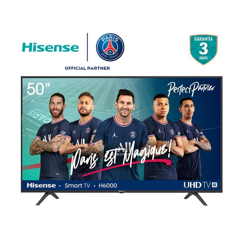 Hisense - Televisor Hisense 50 pulgadas LED 4K Ultra HD Smart TV