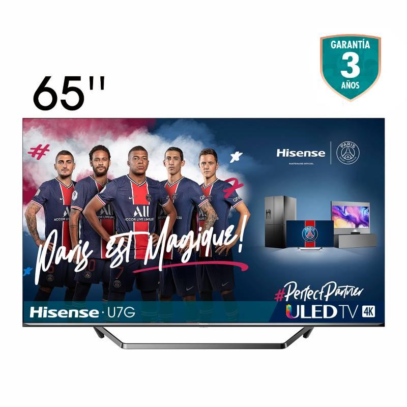 Hisense - Televisor Hisense 65 pulgadas ULED 4K Smart TV