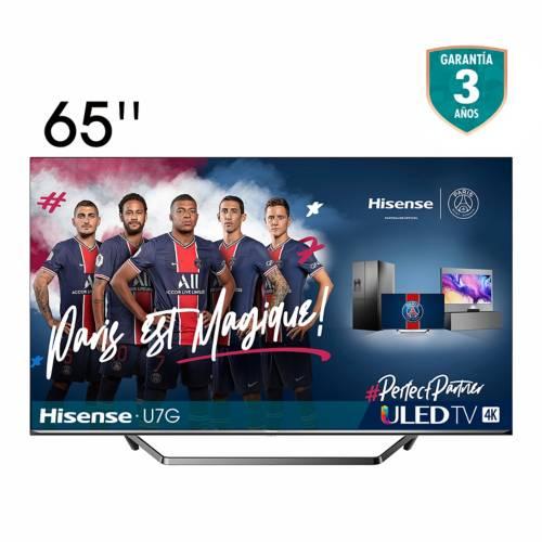Televisor Hisense 65 pulgadas ULED 4K Smart TV