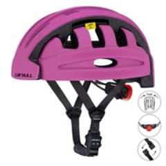 VZ - Casco plegable bicicleta, scooter, cairbull purpur