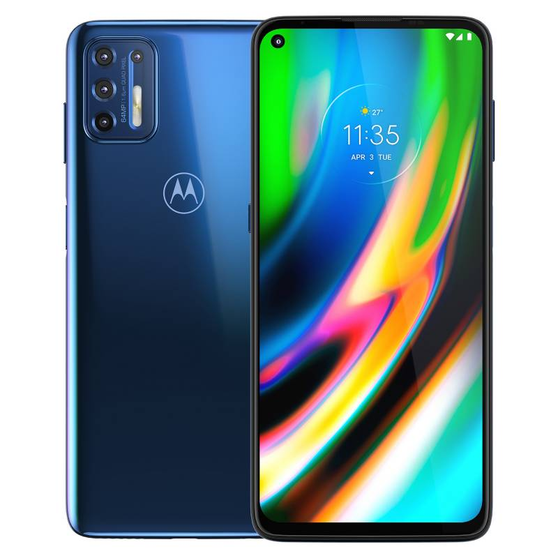 Motorola - Celular Motorola Moto G9 Plus 128GB