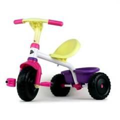 BOY TOYS - Triciclo metálico niña marca boy toys
