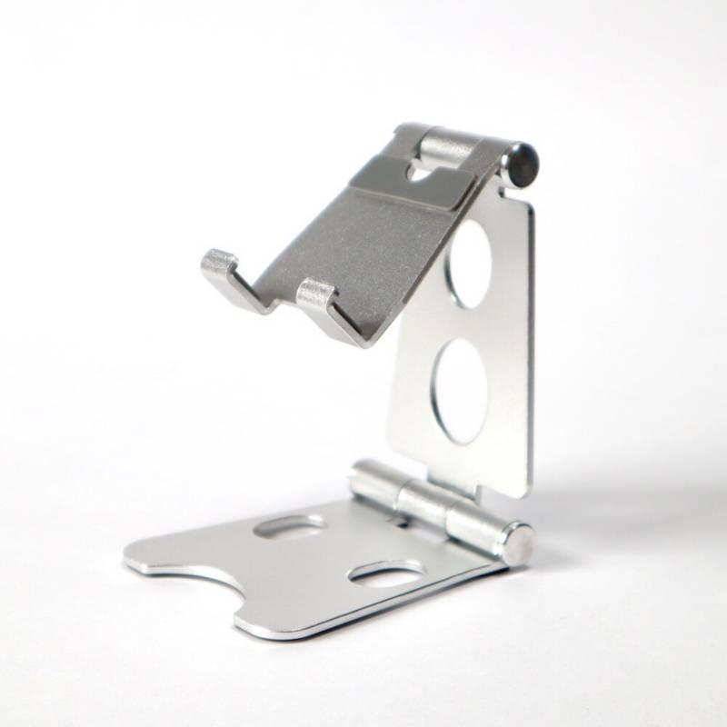 VZ - Soporte para celular y tablet en aluminio - plata