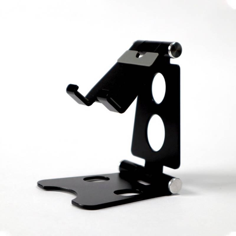 VZ - Soporte para celular y tablet en aluminio - negro