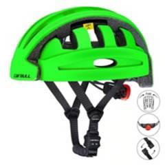 VZ - Casco plegable bicicleta, scooter, cairbull verde