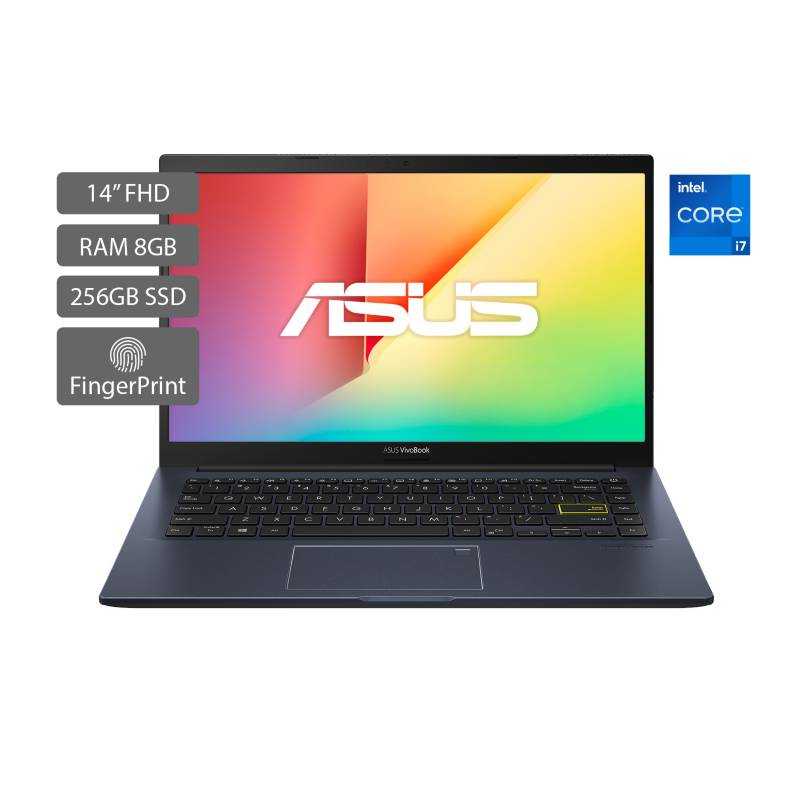 Asus - Portátil Asus Vivobook X413 14 pulgadas Intel Core i7 8GB 256GB