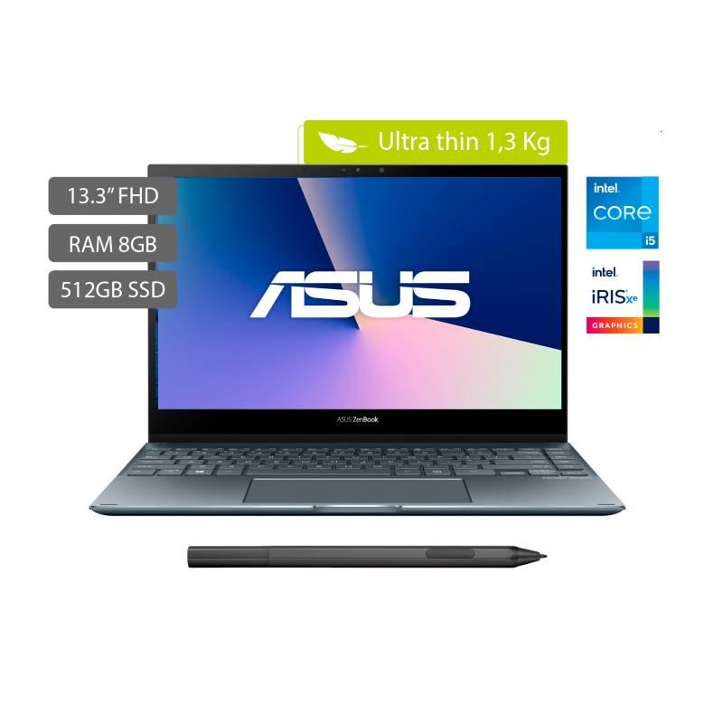 Asus - Portátil 2 en 1 Asus Zenbook Flip 13.3 pulgadas Intel Core i5 8GB 512GB