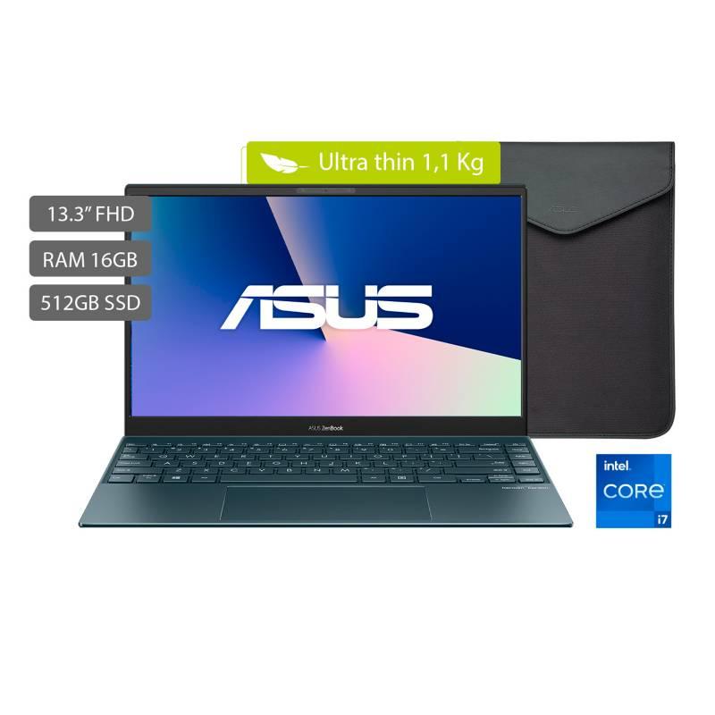 Asus - Portátil Asus Zenbook UX325 13.3 pulgadas Intel Core i7 16GB 512GB