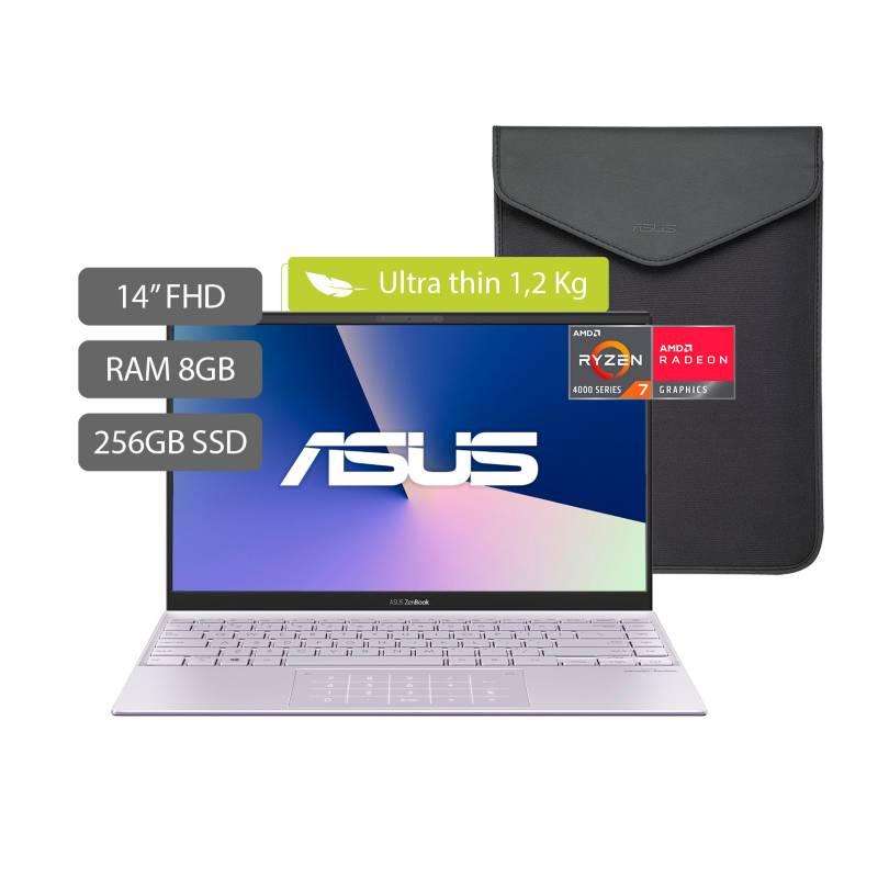 Asus - Portátil Asus Zenbook Um425Ia 14 pulgadas AMD RYZEN R7 8GB 256GB