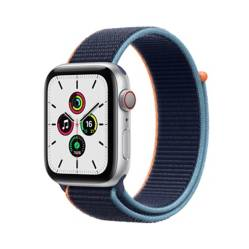 Apple - Apple Watch SE (GPS + Cellular) 44 mm