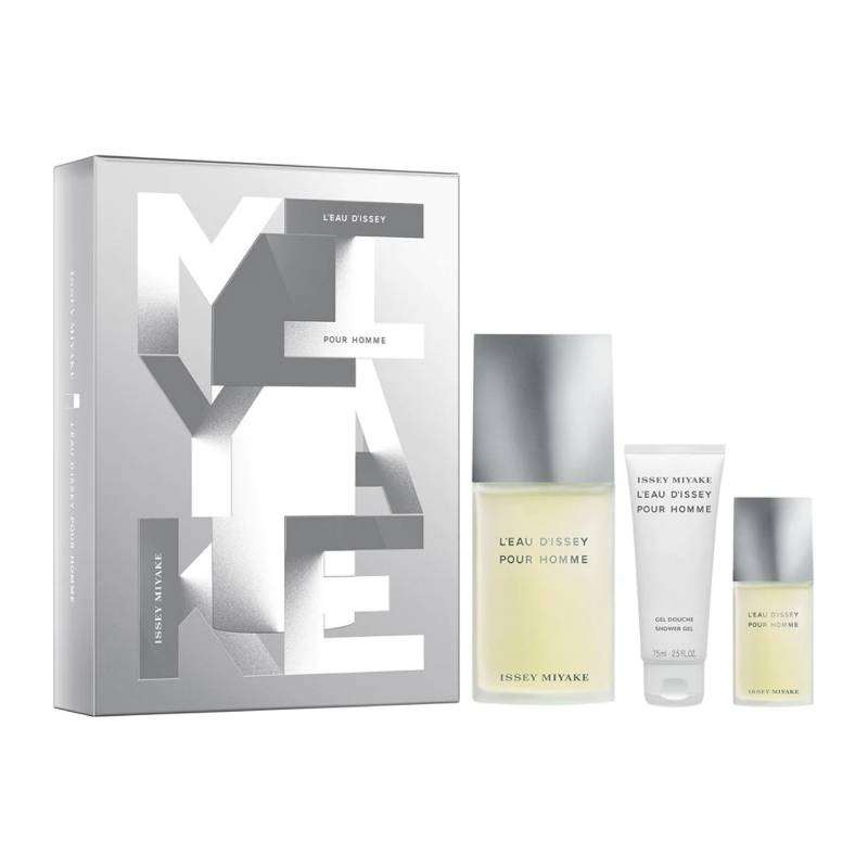 Issey Miyake - Perfume Issey Miyake L'eau D'issey Trio Gift Set Hombre 125 ml EDT