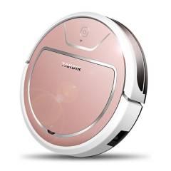 VZ - Aspiradora trapeadora robot rosada