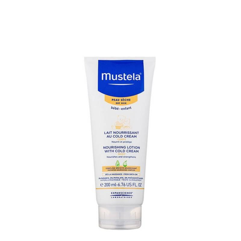 MUSTELA - Crema hidratante cara y cuerpo piel seca 200ml