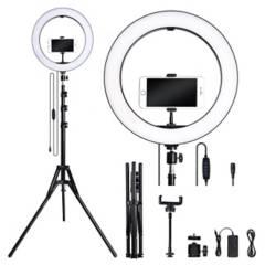 VZ - Aro de luz led 30 cm fotografía selfie con trípode