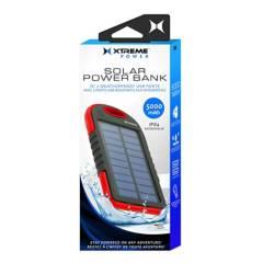 XTREME - Batería solar portátil xtreme 5000 mah doble usb