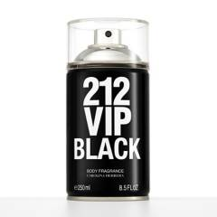 Carolina Herrera - Body Splash Carolina Herrera 212 Vip Black Body Spray Hombre 250 ml