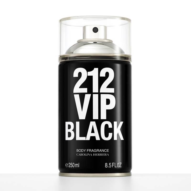 Carolina Herrera - Body Splash Carolina Herrera 212 Vip Black Body Spray Hombre 250 ml