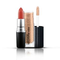 MAC Cosmetics - Set de Maquillaje Kit Limited Duo No2: Sombra Líquida + Labial