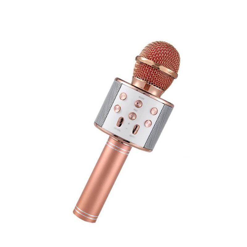 GENERICO - Micrófono speaker color oro rosa ref. Ws-858