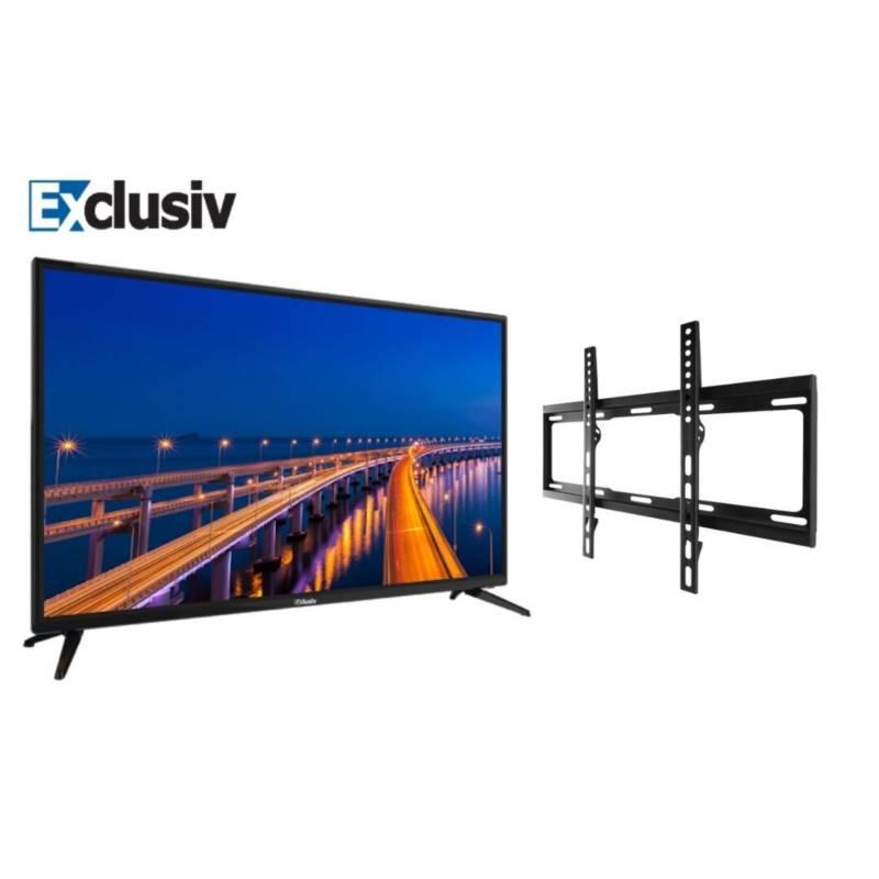 Exclusiv - Televisor Exclusiv 32 pulgadas HD SMARTV + Soporte