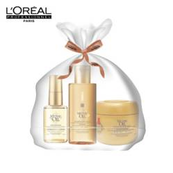 Loreal - Estuche de Viaje Shampoo Mythic Oil 75 ml + Mascarilla Mythic Oil 75 ml + Aceite Mythic Oil 30 ml
