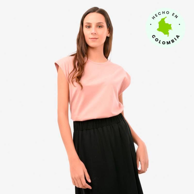 Lobo Rosa para Falabella - Camiseta Mujer Sin Mangas Lobo Rosa para Falabella