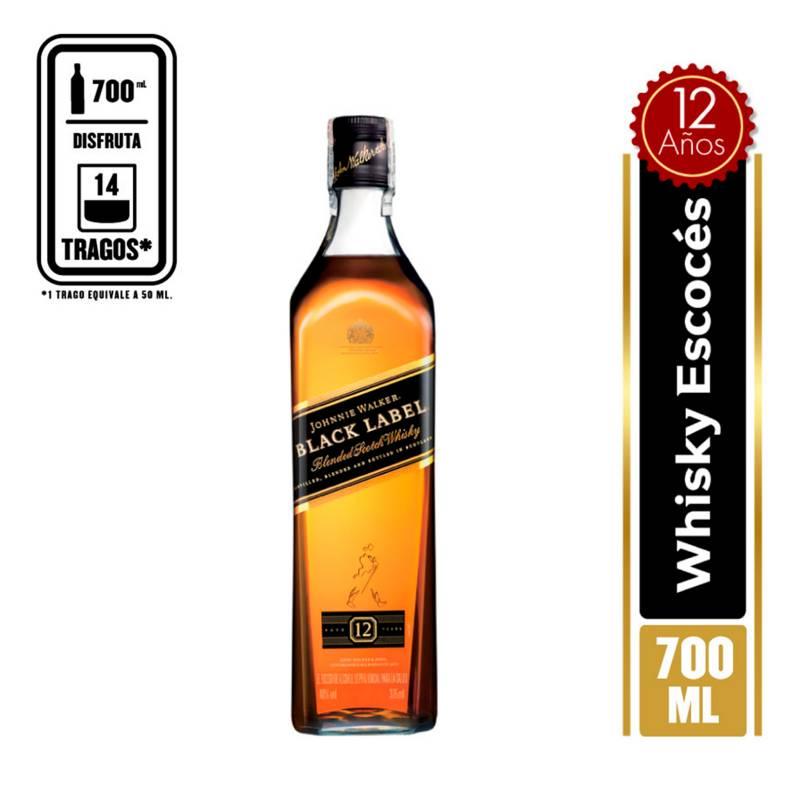 Johnnie Walker - Whisky Jhonnie Walker Black Label 700 ml