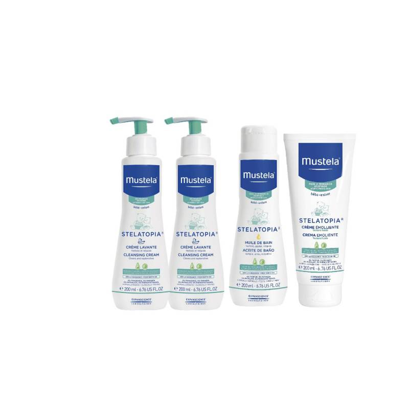 MUSTELA - Baño e hidratación premium piel atópica