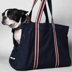 THE STRIPED DOG - bolso para mascotas subway