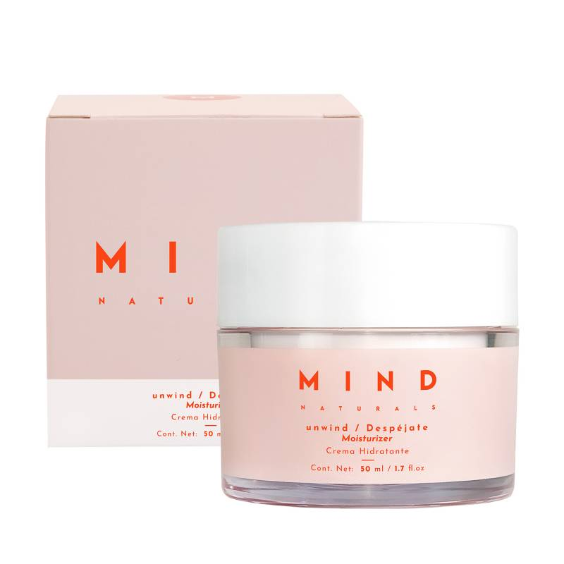 Mind Naturals - Crema Hidratante Despéjate