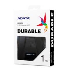 Adata - Disco duro externo 1tb adata hd650 antigolpes negr