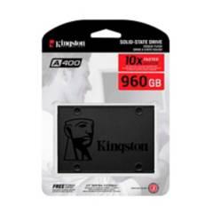 Kingston - Disco solido ssd 960gb kingston 3d sata 2.5 a400