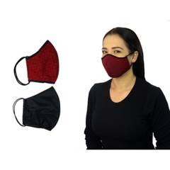 ARRO ES SAS - Set x 2 tapabocas  alta protección tela filtro tat