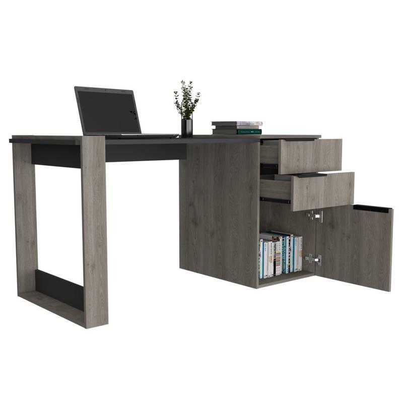 RTA DESIGN - Escritorio Office 13 Ceniza y Plomo