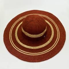 AZ ACCESSORIES - sombrero pava mujer vino tinto az accesorios