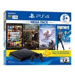 PlayStation - Consola playstation 4 slim 1tb mega pack 6