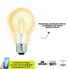 VTA - Bombillo led wifi led amber luz amarilla fil vta